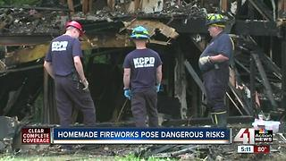 ATF blows up illegal fireworks found in KC - Video
