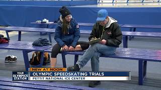 2018 Olympic speedskating trials start at Pettit National Ice Center - Video