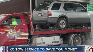 KC tow service to save you money - Video