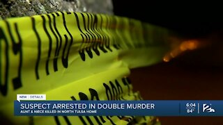Suspect arrested in double murder