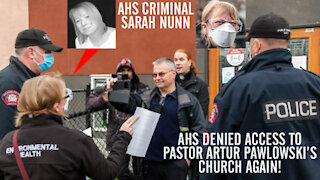 AHS Nazi Shows Up At Pastor Artur Pawlowski's Church and Get Shot Down In Flames