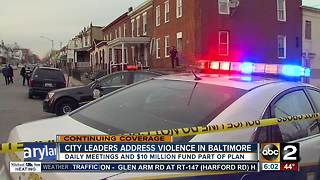 Mayor, Commissioner address juvenile crime in Baltimore - Video