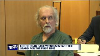 Lodge road rage witnesses take the stand for the first time - Video