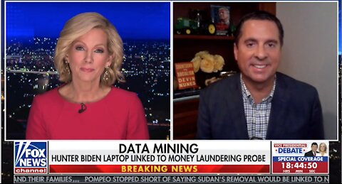 Rep. Nunes: American people deserve to know why FBI didn't disclose Biden laptop to Congress