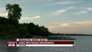 16-year-old boy drowns at Racine beach - Video