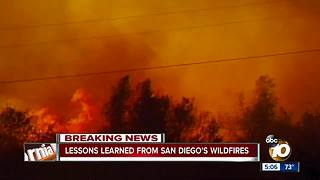 Lessons learned from San Diego's wildfires - Video