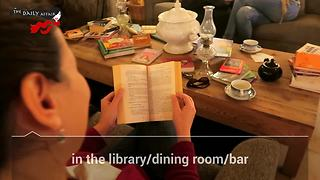 The Literary Man Hotel is a book lover's paradise destination - Video
