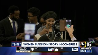 Women making history during election