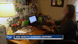More employees working from home than ever - Video