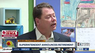 CCSD Superintendent Pat Skorkowsky announces retirement - Video