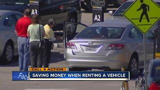 Saving money when renting a vehicle