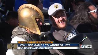 Golden Knights lose Game 1 of Western Conference FInals - Video