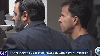 Local doctor arrested, charged with sexual assault - Video