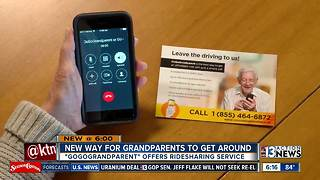 GoGoGrandparent is a ridesharing service for older people - Video