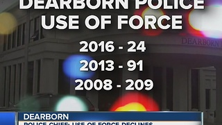 Dearborn police say use of force dropped in 2016 - Video