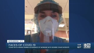 ICU nurse shares experience with severe COVID patients