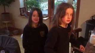 Irish Journalist Pulls April Fool's Prank on his Kids - Video