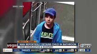 Police looking for man who may have kept child in bathroom - Video