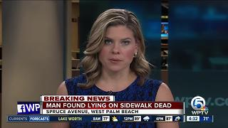 Man found dead in West Palm Beach - Video