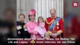 Prince William talks about Princess Diana being a grandmother | Rare People - Video