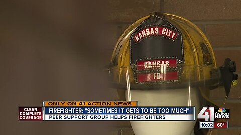 Peer support group helps KCK firefighters manage job-related trauma