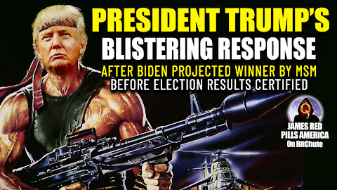 BOOM! Trump's BLISTERING Statement After Biden Projected Winner by MSM Before Results Certified