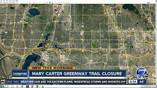 Mary Carter Greenway Trail closure - Video