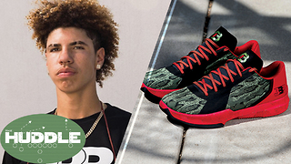 LaMelo Ball's Shoes Could Make Him INELIGIBLE for NCAA -The Huddle - Video