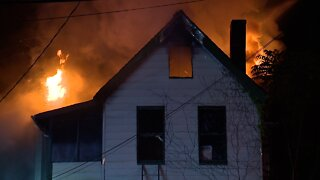 Firefighters respond to fire on Zoeter Avenue