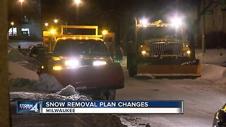 Milwaukee Snow Removal Plans Updated