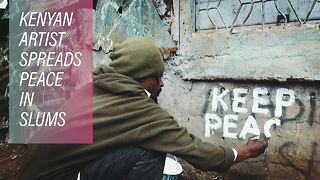 Could art avert post-election violence in Kenya? - Video