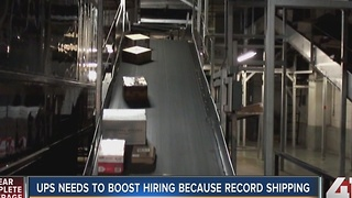 UPS hiring 1,100 new jobs in Kansas City for holiday help - Video