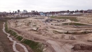 Bikers continue to progress at the new bike skills park in Boise