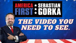 The video you need to see. Sebastian Gorka on AMERICA First
