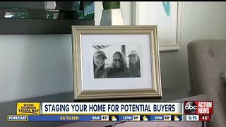 Staging your home for potential buyers