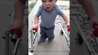 Two-Year-Old Walks After Multiple Heart Surgeries - Video