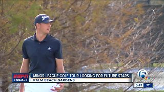 Minor League Golf Looking for Stars