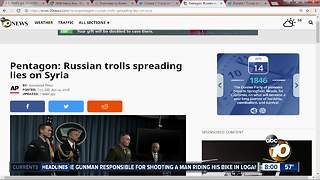 Russian Misinformation Campaign