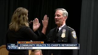 Community split on Milwaukee Police Chief Ed Flynn's retirement - Video