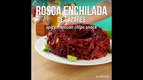 Spicy Mexican Chips Snack Ring