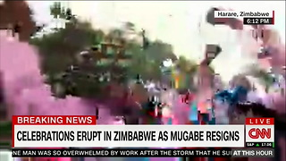 Robert Mugabe Resigns After Four Decades as Zimbabwe's President - Video