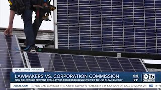 New bill would prevent regulators from requiring utilities to use clean energy