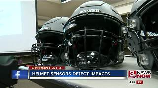 Back to School: Helmet sensors detect impacts - Video