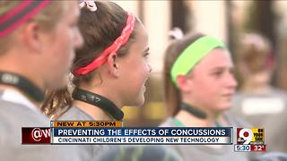 Q-Collar tests show positive results in preventing concussions for girls, too - Video