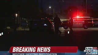 Three men shot on the west side - Video