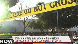 Man who died in Phoenix PD custody identified - Video