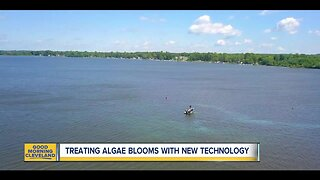 Treating algae blooms with new technology