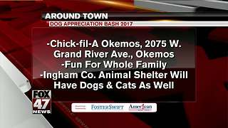Around Town 8/25/17: - Video