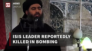 Isis Leader Reportedly Dead - Video
