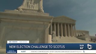 Trump campaign files petition with SCOTUS in new election challenge